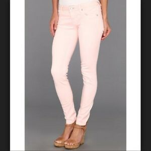 0127e1f6cd3 NWOT VIGOSS WOMEN  039 S THE JAGGER PINK SKINNY CROP JEANS SIZE 24 00