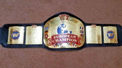 WWF European Wrestling Championship Belt.Adult Size.