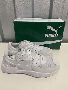 Mens Puma Storm Origin White Size 9.5