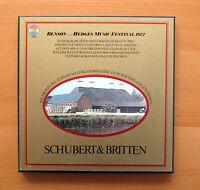 CBS 79316 Benson & Hedges Music Festival 1977 Schubert Britten NEAR MINT 3xLP