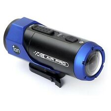New ION Air Pro Lite Wifi HD Sports Helmet Video Camera Camcorder - Blue/Black