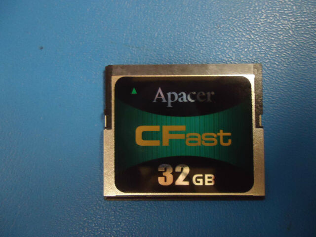 APCFA032GTAHS-DC 32 GB Apacer CFast SLC Industrial Flash Card