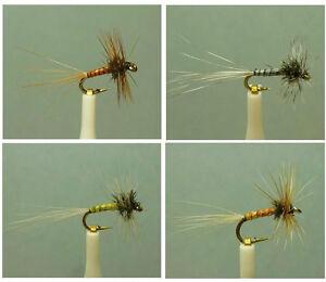 Artflies Biot Body Midge Dry Flies ~ Choose Patterns, Sizes and Qty ~