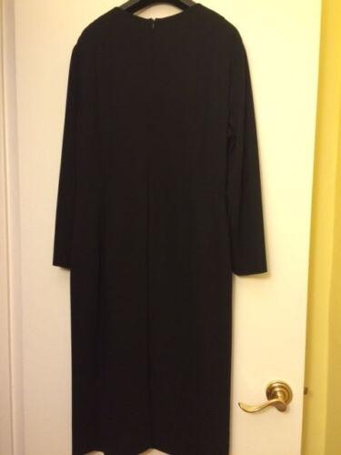 open snijbloem 4414NwtRetail995 Maat Zwarte Escada jurk met BrdCxoe