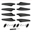 Hubsan X4 Zino H117S RC Drone Accessories spare parts propellers blades wings