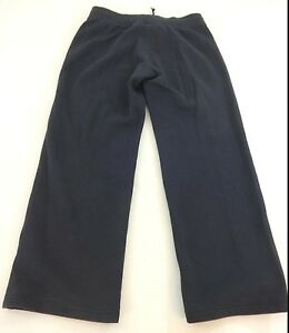 ALLESON-MENS-BLACK-100-STRETCH-POLYESTER-ATHLETIC-TRACK-PANTS-SIZE-S