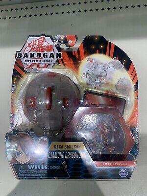 BAKUGAN BATTLE PLANET DEKU DIAMOND DRAGONOID JUMBO BAKUCORE **NEW**