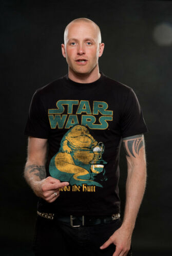 Sous licence officielle Star Wars-Jabba the Hutt T-Shirt Homme S-XXL tailles