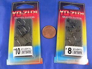 1-etui-6-hamecon-triple-Yo-Zuri-outbarb-noir-nikel-avec-petite-bague