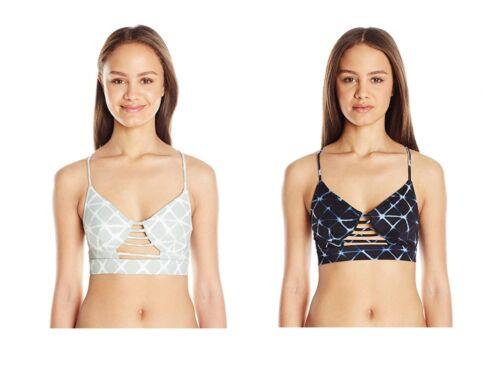 RVCA Women's Crystalized Bralette Bikini Top Swim Bathing Suit
