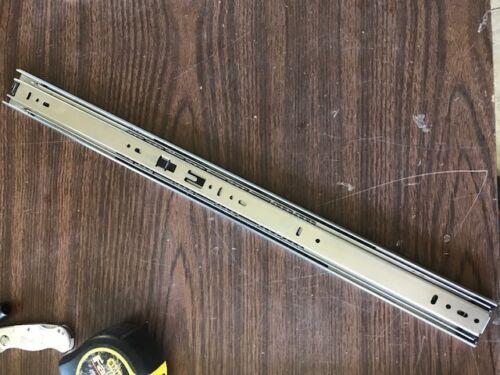 """1 NEW PAIR KV 8400 SERIES  22/"""" ROLLER BEARING DRAWER SLIDES  **MAKE OFFER**"""