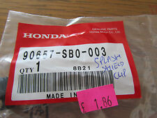 GENUINE CBR1100XX/1000RR/600/1000F BLACK FAIRING RETAINER CLIP 90657-SB0-003