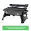 Gasmate-Gas-BBQ-Grill-with-Cooking-Plates-Lid-Portable-Picnic-Camping-Barbecue thumbnail 6