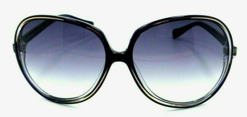 "Oliver Peoples /""Sofiane/"" ULM Navy Blue /& Gold Light Grey Gradient Sunglasses"