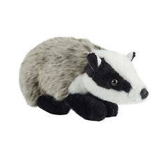 BADGER - LIVING NATURE SOFT CUDDLY FLUFFY REALISTIC STUFFED PLUSH TEDDY TOY AN58