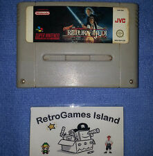 STAR WARS RETURN OF THE JEDI SUPERNINTENDO SUPER NINTENDO MARIO NES SNES PAL