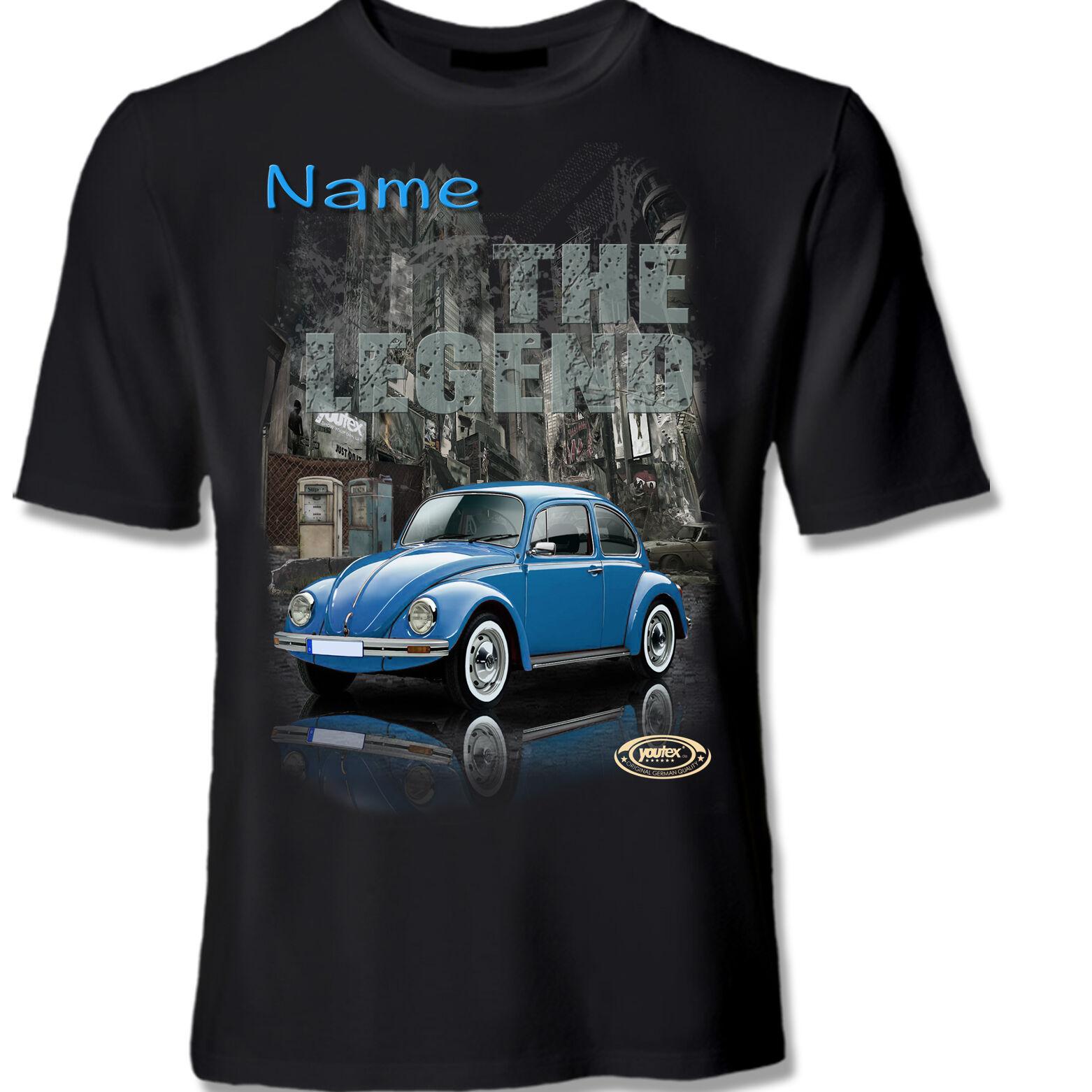 KÄFER BEETLE VW CLASSIC Tuning T Shirt Shirt T-Shirt original YOUTEX