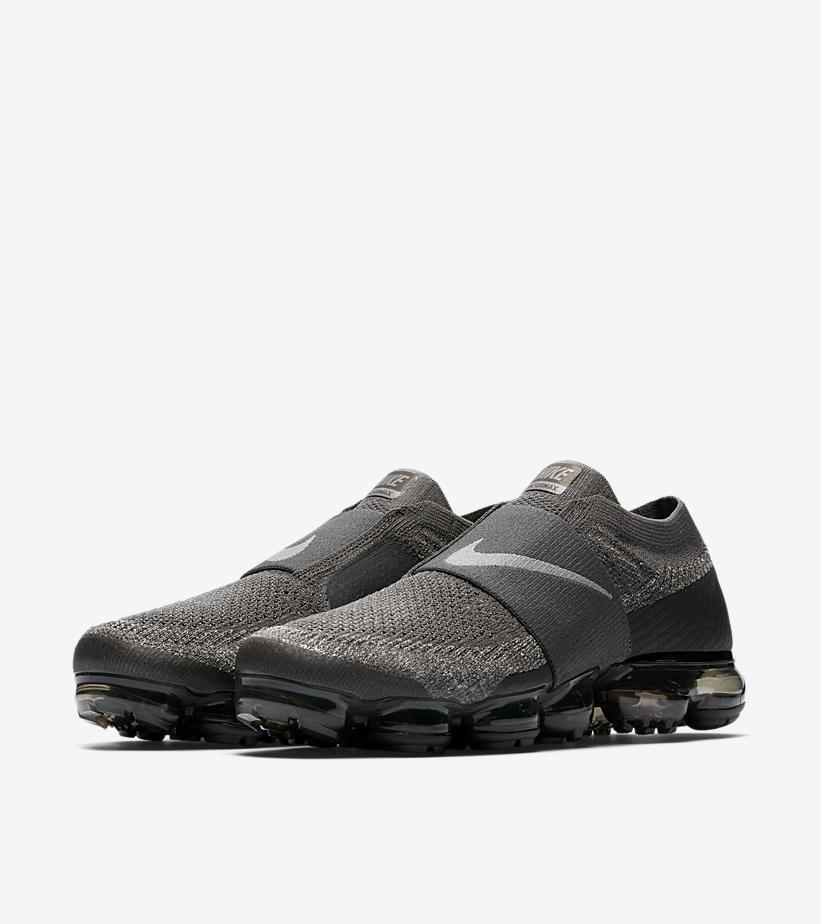 Men's Nike Air VaporMax Flyknit MOC Midnight Fog Dark Stucco Size 14 AH3397 013
