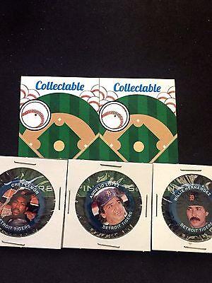 Klassisch Collectables-chet Detroit Tigers Pinbacks 3 Willie & Aurelio-gift