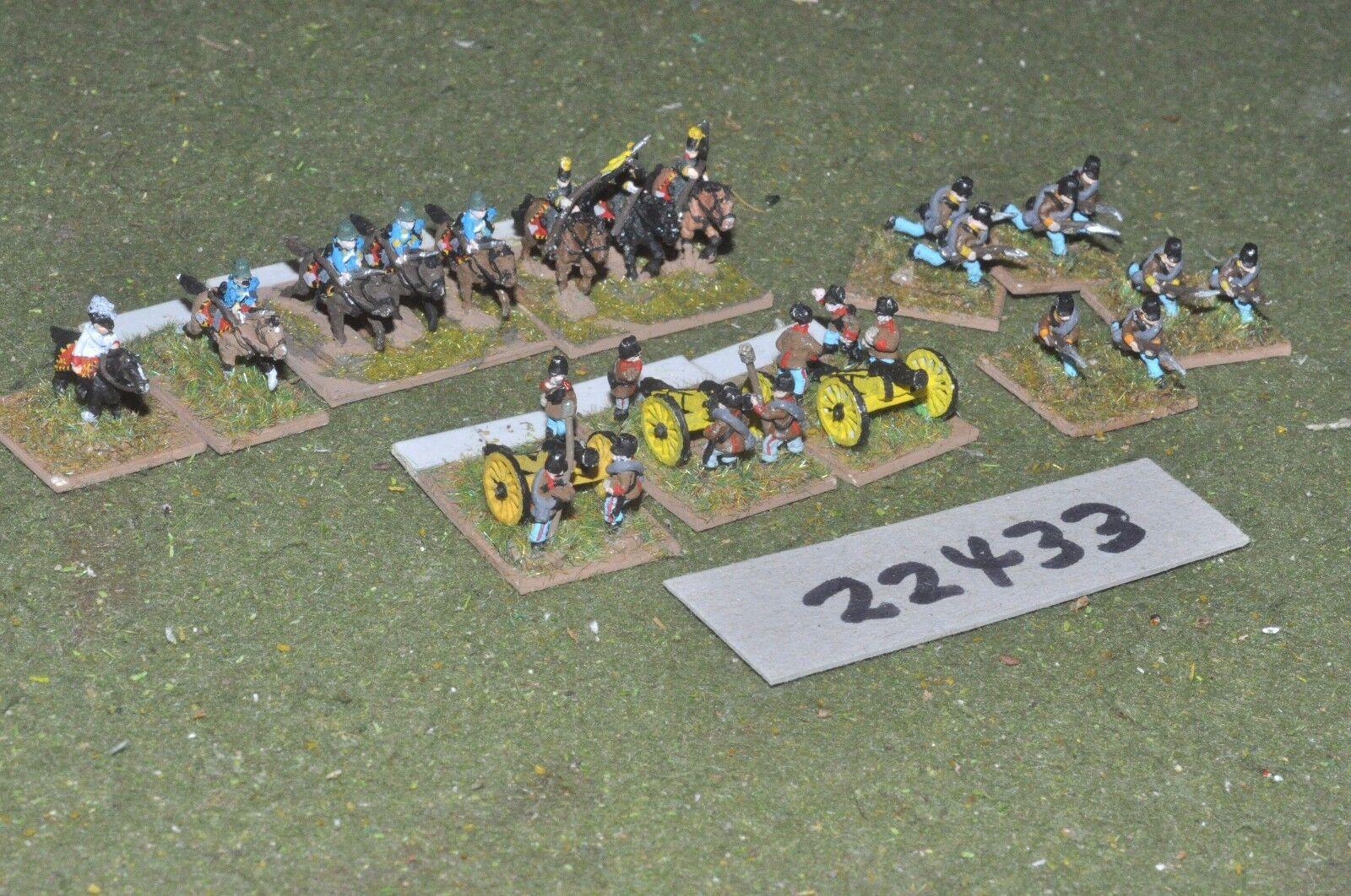 10mm 19th century   austrian - battlegroup 25 figs inf - inf (22433)