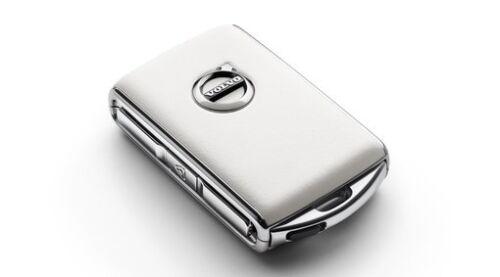 31659818 Original Volvo XC60 ab MJ 2018 Schlüsselgehäuse Weißes Leder ET