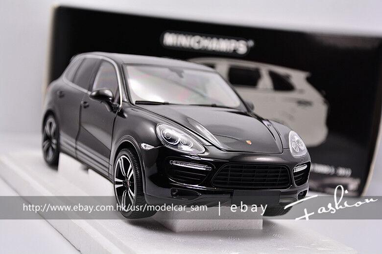 Minichamps 1 18 Porsche Cayenne Turbo Noir