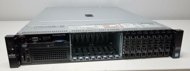 Dell PowerEdge R730 Xeon E5-2660 v3 2.60GHz (x2) 96GB RAM No HDDs H730 Mini