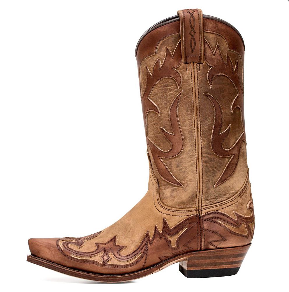 11111 Sendra boots western brown choco choco choco brun Superbe promo 69e056