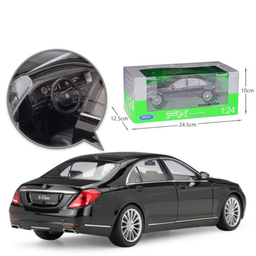 1//24 Mercedes Benz S-Class Diecast Model Cars Toys Replica Collection By WELLY