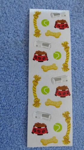Mrs Grossman DOG TOYS Strip of Misc DOG TOYS Stickers/'
