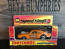 matchbox speedkings Very Rare K 22B-2.Orange Version mint OVP good from 1970
