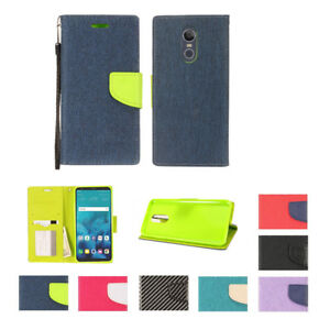 For-LG-Stylo-4-Stylus-4-PU-Leather-Slot-Wallet-Flip-Pouch-Stand-Case-Skin-Cover