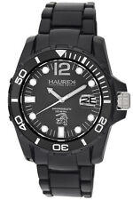 Haurex Italy Women's N1354UNN Caimano Luminous Black Dial Black Rubber Watch