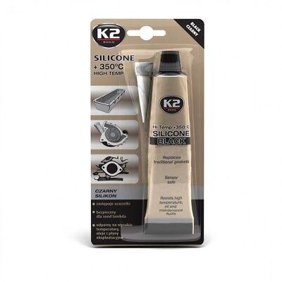 Auto-anbau- & -zubehörteile Herzhaft K2 Silikon Silikon Hochtemperatur Dichtmasse 350° Schwarz 85g Geschickte Herstellung
