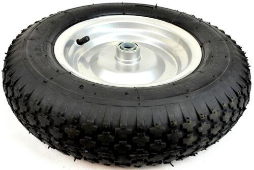 Luftrad n9 400 mm roue Sackkarrenrad Schubkarrenrad pneumatiques 4.80//4.00-8 400 mm