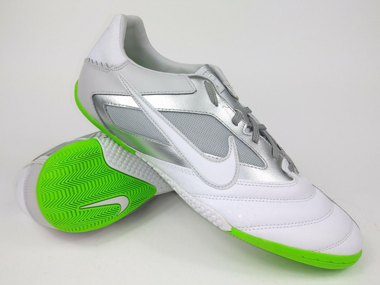 Nike Hombre Raro Nike5 Elástico pro 415121-110 blancoo Plata Interior Zapatos