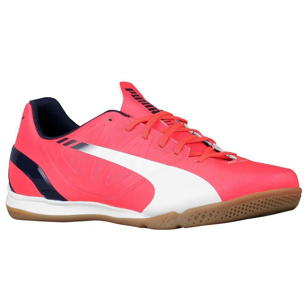 Puma Evospeed 4.3 se Casual   Entrenamiento Indoor Soccer Zapatos Nuevos Rojo   Negro