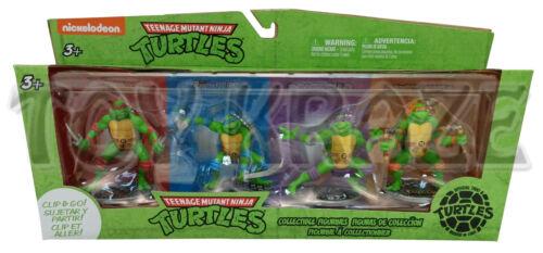 "Cake Topper Key Chain Figure 3/"" Entièrement neuf dans sa boîte Teenage Mutant Ninja Turtles Clip /& Go Set"