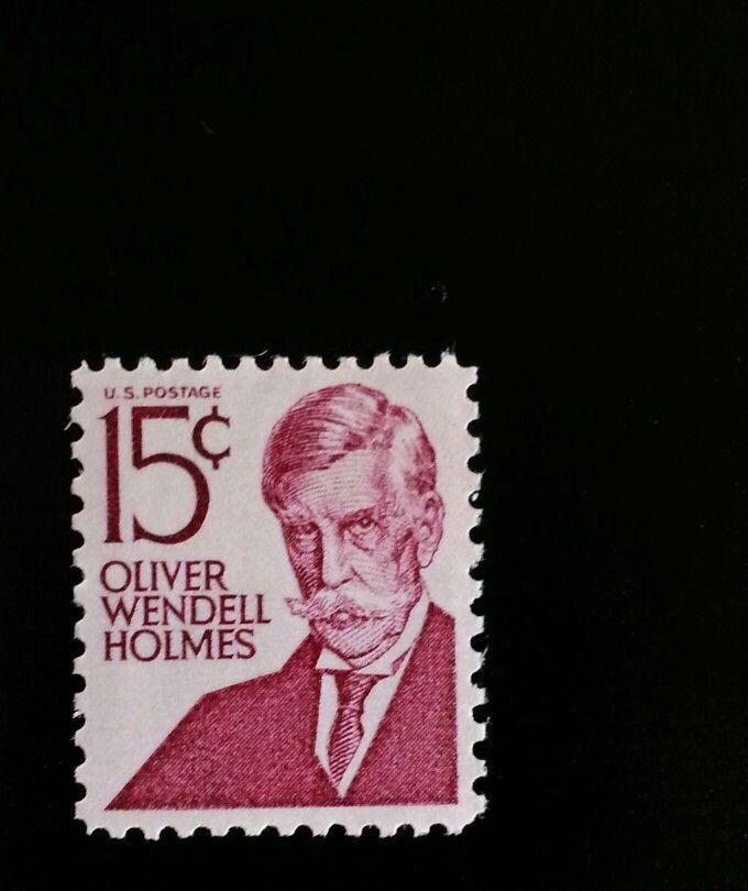 1968 15c Oliver Wendell Holmes, Supreme Court Scott 128