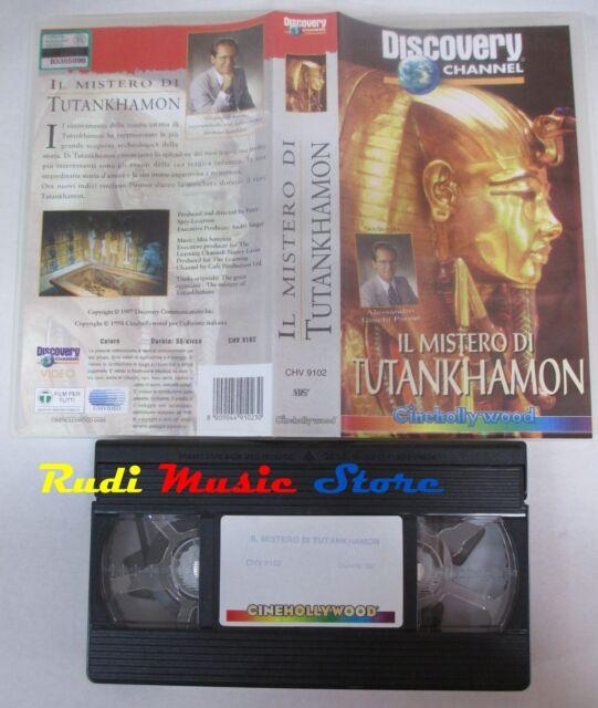film VHS documentario IL MISTERO DI TUTANKHAMON Discoveri channel (F170)  no dvd