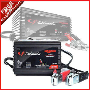 Schumacher SC1355 1.5A 6//12V Fully Automatic Battery Maintainer
