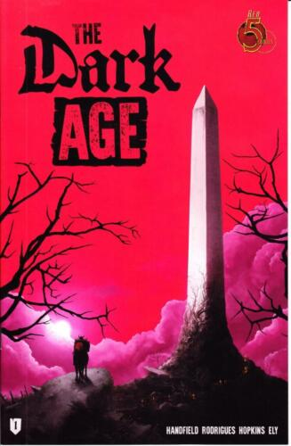 DARK AGE #1 1st PRINT RED 5 HOT NEW SERIES 1st ISSUE COLLECTORS ITEM