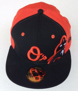 232fb02523048 MLB Baltimore ORIOLES O s Baseball New Era 59FIFTY Fitted Cap Size 7 ...