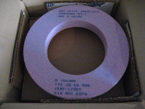 BAYSTATE 12X2-1//2X7 17A46L6V56 GRINDING WHEEL AA9251-1
