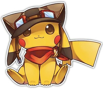 Pokemon Pikachu Anime Car Window Decal Vinyl Sticker 030
