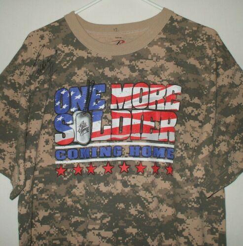 EDDIE MONEY SIGNED T Shirt XL One More Soldier Com