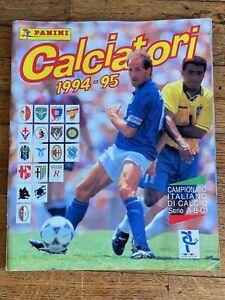 Album sticker PANINI CALCIATORI 1994 95 COMPLETE football 1995 ...