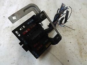 s l300 mazda mx5 mk1 fuse box internal interior box with fuses ebay mx5 mk1 fuse box at virtualis.co