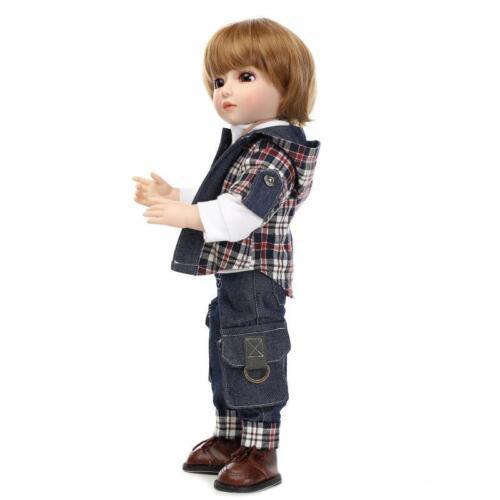 45cm Child Gift Boy NPK Nicery BJD Ball Jointed Doll High Vinyl Girl Toy 18in