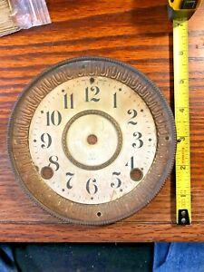 Old-Seth-Thomas-Clock-Bezel-Dial-Pan-Combo-K874